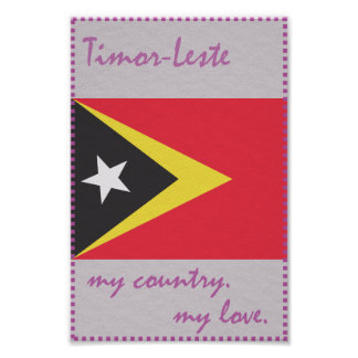 Timor-Leste My Country My Love Poster
