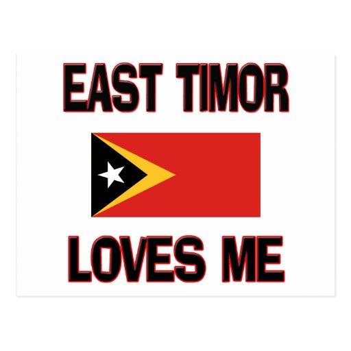 Timor Oriental me ama Postales