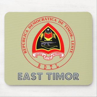 Timorese Emblem Mouse Pads
