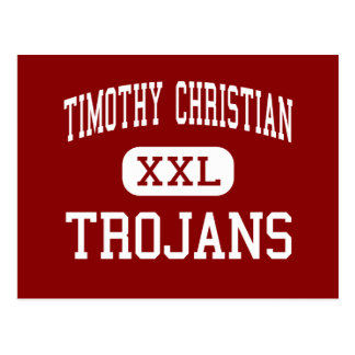 Timothy Christian - Trojans - Junior - Elmhurst Post Cards