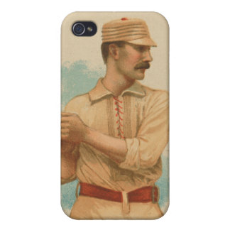 Timothy Keefe Baseball Card Cases For iPhone 4