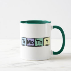 Combo Mug with Timothy made of Elements design