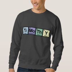 Men's Basic Sweatshirt with Timothy made of Elements design
