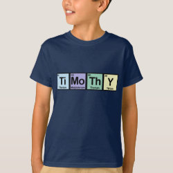 Timothy made of Elements Kids' Hanes TAGLESS® T-Shirt