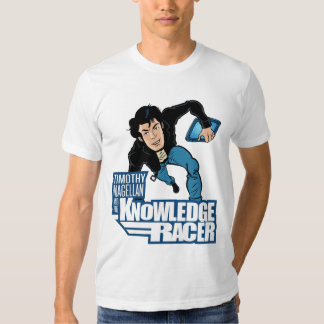"""""""Timothy Magellan and the Knowledge Racer"""" T-Shirt"""