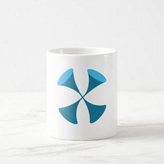 """Timothy Magellan """"taza del logotipo del ISC"""" Taza Básica Blanca"""