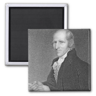 Timothy Pickering (1745-1829) engraved by Thomas B 2 Inch Square Magnet