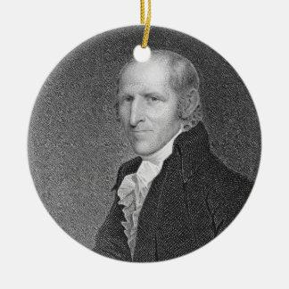 Timothy Pickering (1745-1829) engraved by Thomas B Ceramic Ornament