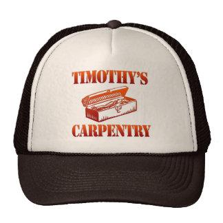 Timothy s Carpentry Mesh Hats