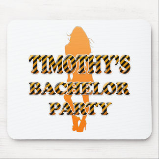 Timothy's Bachelor Party Mouse Pad