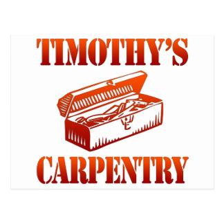 Timothy's Carpentry Postcard