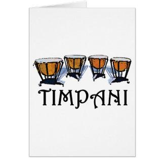 Timpani Card