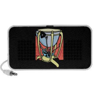 Timpani drum, pedal version, tympani 1 speakers