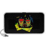 Timpani drums in abstract colours, typmani drum mini speaker