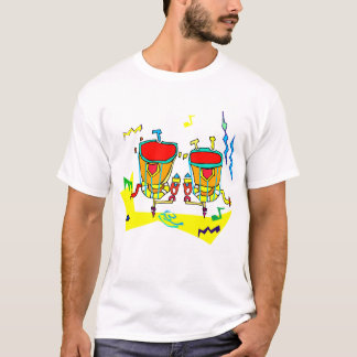 Timpani drums in abstract colours, typmani drum T-Shirt