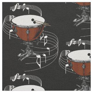 Timpani (Kettle Drum) Fabric - Dark