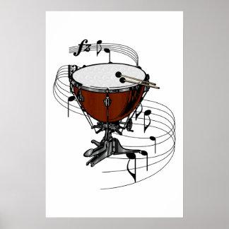 Timpani (Kettle Drum) Poster
