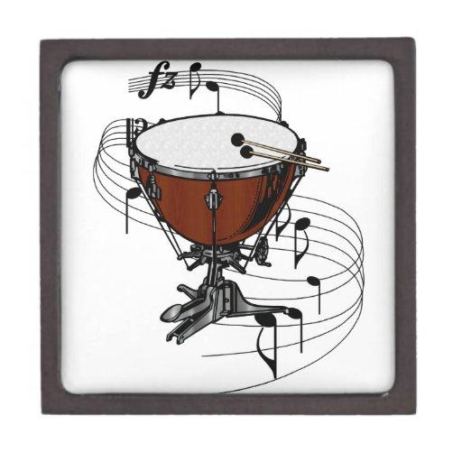Timpani (Kettle Drum) Premium Jewelry Box