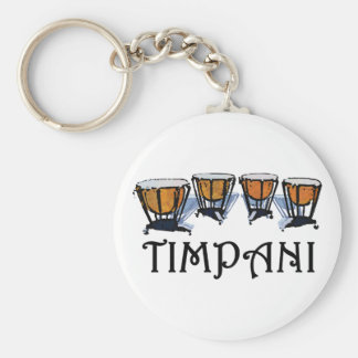 Timpani Keychain
