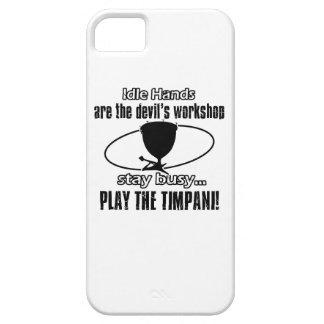 Timpani musical design iPhone 5 cases