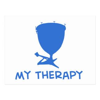 Timpani my therapy designs postcard