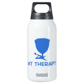 Timpani my therapy designs 10 oz insulated SIGG thermos water bottle