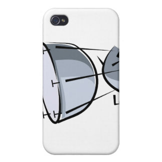 Timpani ningún diseño gráfico de la imagen del ext iPhone 4 carcasa