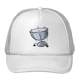 Timpani No Pedal Abstract Graphic Image Design Hats