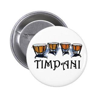 Timpani Pinback Button