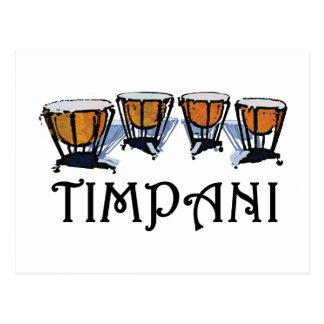Timpani Postcard