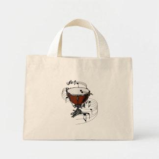 Timpani (tambor de la caldera) bolsas lienzo