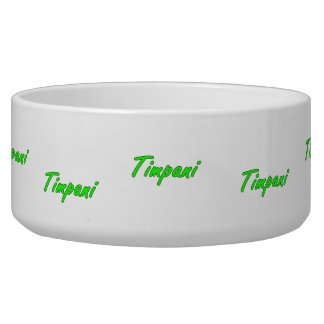 timpani text blk outline bright green.png dog water bowl