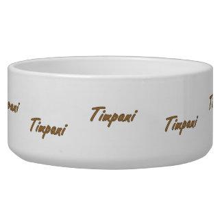 timpani text blk outline brown.png pet bowls