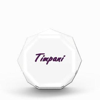 timpani text blk outline drk purple.png acrylic award