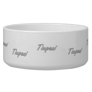 timpani text blk outline grey.png dog food bowl