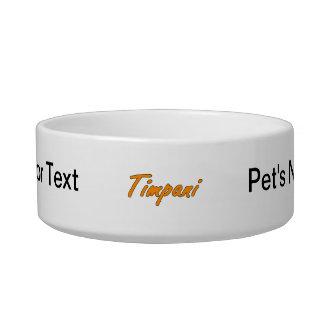 timpani text blk outline orange.png pet food bowls