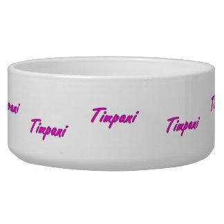 timpani text blk outline purple pink.png dog bowl