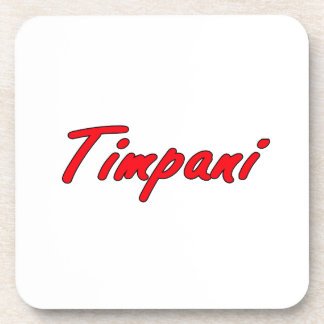 timpani text blk outline red.png coaster