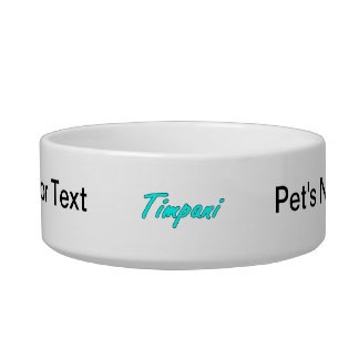 timpani text blk outline teal.png pet water bowl