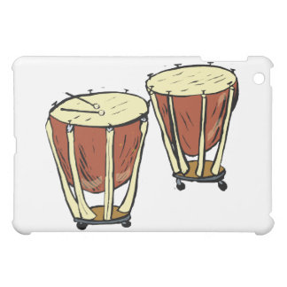 Timpani Two With Mallets Graphic Image iPad Mini Covers