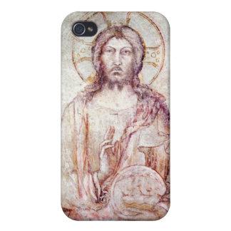 Tímpano que representa la bendición del salvador,  iPhone 4/4S fundas