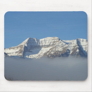 Timpanogas Mountain in the Clouds Utah Mousepad