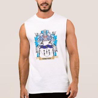 Timpany Coat of Arms - Family Crest Sleeveless T-shirts