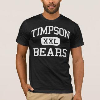 Timpson - Bears - High School - Timpson Texas T-Shirt