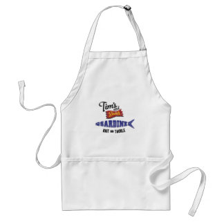 Tim's and Son's Sardine, Bait and Tackle Shop Adult Apron