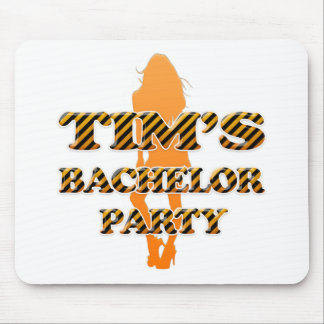 Tim's Bachelor Party Mouse Pad