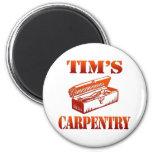 Tim's Carpentry Refrigerator Magnet