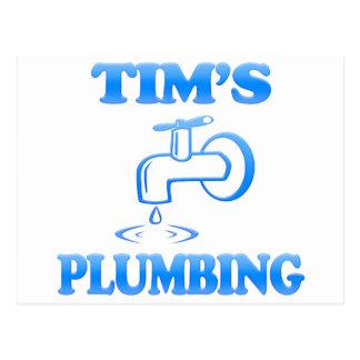 Tim's Plumbing Postcard