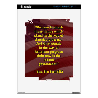 TIMSCOTT ATTACK DECALS FOR iPad 3