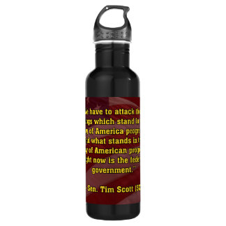 TIMSCOTT ATTACK STAINLESS STEEL WATER BOTTLE